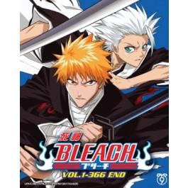 BLEACH 死神VOL.1-366 END (16 DVD)