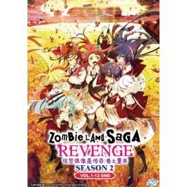 ZOMBIELAND SAGA: REVENGE 佐贺偶像是传奇:卷土重来 (SEASON 2) VOL.1-12 END(DVD)