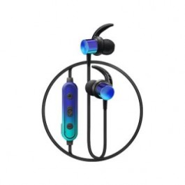 CLIPTEC BBE100 BLUETOOTH EARPHONE BLUE GREEN