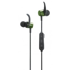 CLIPTEC BBE101 SPORTS EARPHONE ARMY GREEN