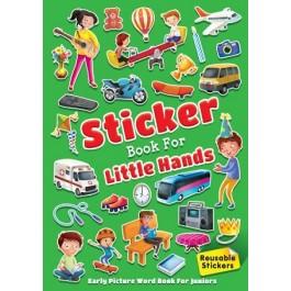 LITTLE HANDS STICKER BOOK 2