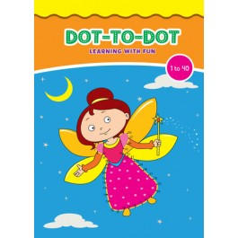 DOT TO DOT LEARNING WITH FUN (1 TO 40)