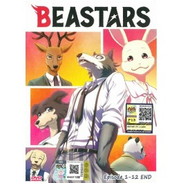 BEASTARS EP1-12END (DVD)