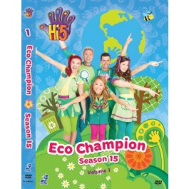 DVD:HI 5 S15 VOL.1 ECO CHAMPION (DVD)