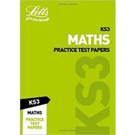 KS3 Letts Maths Practice Test Papers