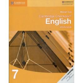 Stage 7 Cambridge Checkpoint English Workbook