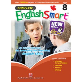 Grade 8 Complete English Smart - New Edition plus Online Audio Clips