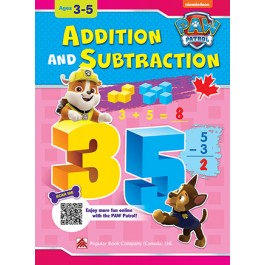 Paw Patrol: Addition And Subtraction: Ages 3-5
