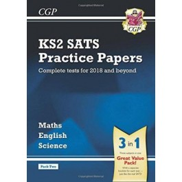 KS2 Complete SATS Practice Papers Pack: Science, Maths & English