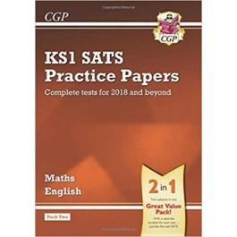 KS1 MATHS&ENG SATS PRAC PAPERS-PACK 2'18