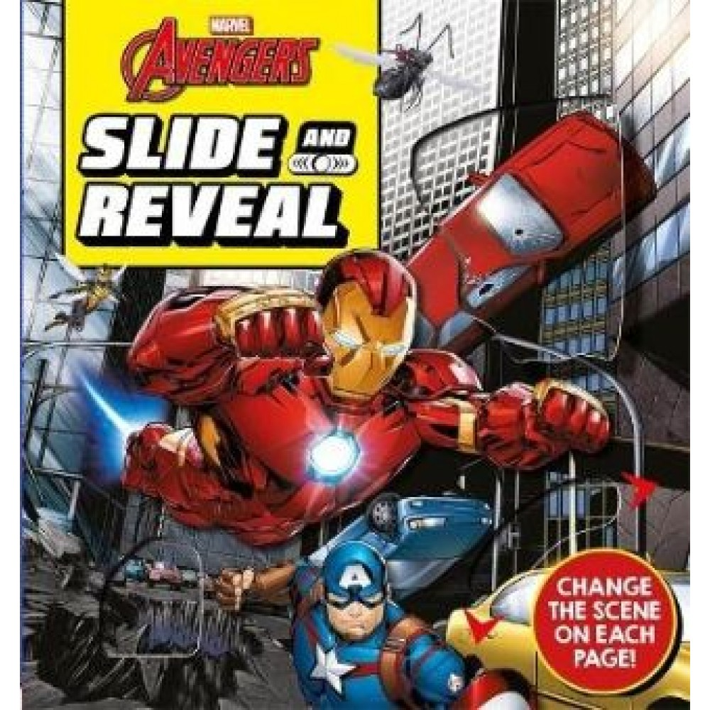 Marvel Avengers Slide and Reveal