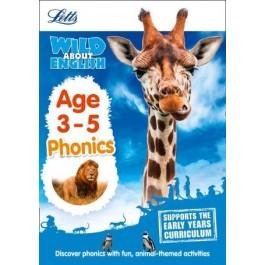 Wild About English - Phonics Age 3-5