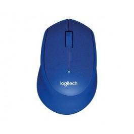 LOGITECH M331 SILENT PLUS WIRELESS MOUSE - BLUE
