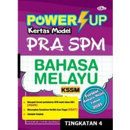 TINGKATAN 4 POWER UP KERTAS MODEL PRA SPM BAHASA MELAYU