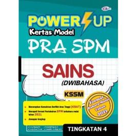 TINGKATAN 4 POWER UP KERTAS MODEL PRA SPM SAINS (DWIBAHASA)