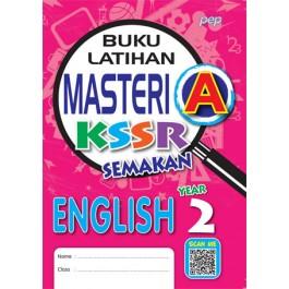 Tahun 2 Buku Latihan Masteri A English