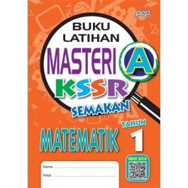 Tahun 1 Buku Latihan Masteri A Matematik