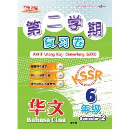 六年级第二学期复习卷华文