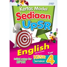 Tahun 4 Kertas Model Sediaan Pra UPSR English