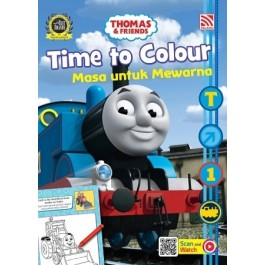 THOMAS & FRIENDS: TIME TO COLOUR