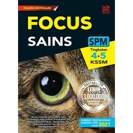 FOCUS SPM SAINS (2021 Edition)