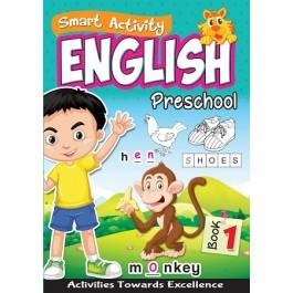 SMART ACTIVITY ENGLISH PRESCHOOL BOOK 1