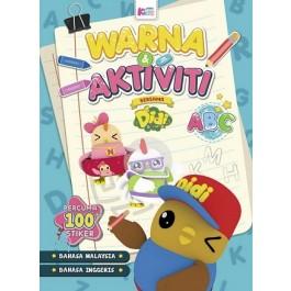 Buku Warna & Aktiviti bersama Didi & Friends : ABC