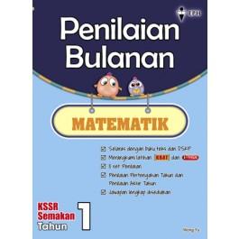 Primary 1 Penilaian Bulanan Matematik