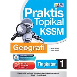 Tingkatan 1 Praktis Topikal KSSM  Geografi