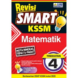 TINGKATAN 4 REVISI SMART KSSM MATEMATIK