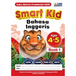 SMART KID BAHASA INGGERIS BOOK 1(AGES 4-5)