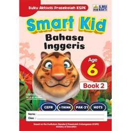 SMART KID BAHASA INGGERIS BOOK 2(AGES 6)