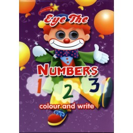 EYE THE NUMBER 123 COLOUR & WRITE