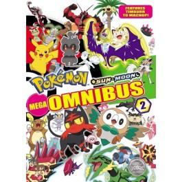 Pokemon Sun and Moon Mega Omnibus 2