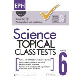 P6 Science Topical Class Tests