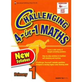 Primary 1 Challenging 4-in-1 Maths-New Syllabus