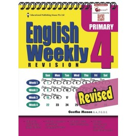 Primary 4 English Weekly Revision Revised Edition