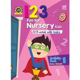 FUN FOR NUR KIDS: 123 ACT BK1(BI/BM)