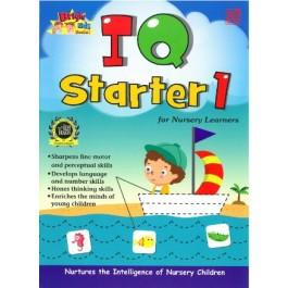 NURSERY BRIGHT KIDS BOOKS - IQ STARTER BOOK 1