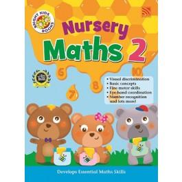 NURSERY BRIGHT KIDS BOOKS - MATHEMATICS BOOK 2