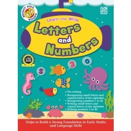 BRIGHT KIDS -  LEARN AND WRITE LETTERS AND NUMBERS