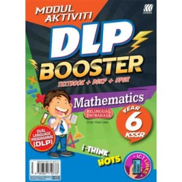 Tahun 6 Modul Aktiviti DLP Booster Mathematics(Bilingual)