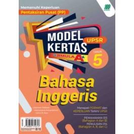 Tahun 5 Model Kertas Formula A+ UPSR English