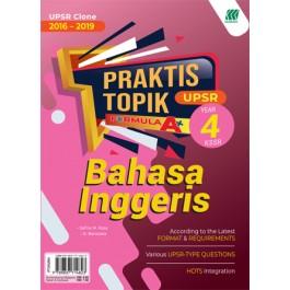 Tahun 4 Praktis Topik Formula A+ UPSR Bahasa Inggeris
