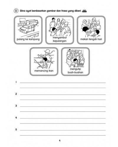 跟着课文学造句 Primary 3 Latihan Bina Ayat Bahasa Melayu Revision Books