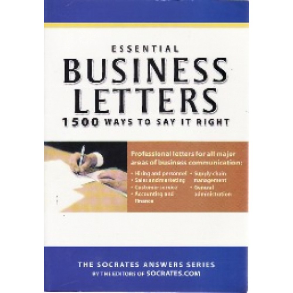 ESSENTIAL BUSINESS LETTERS: 1500 WAYS TO
