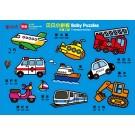 贝贝小拼板:交通工具