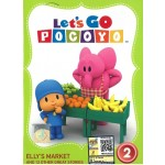 Let's Go Pocoyo Vol.2 Elly's Market (DVD)