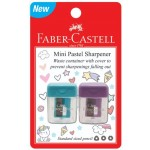 FABER-CASTELL MINI PASTEL SHARPENER 2PCS (RANDOM COLOUR)