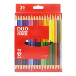 POP ARTZ 18'S 36 COLOURS TWINHEAD COLOURED PENCILS